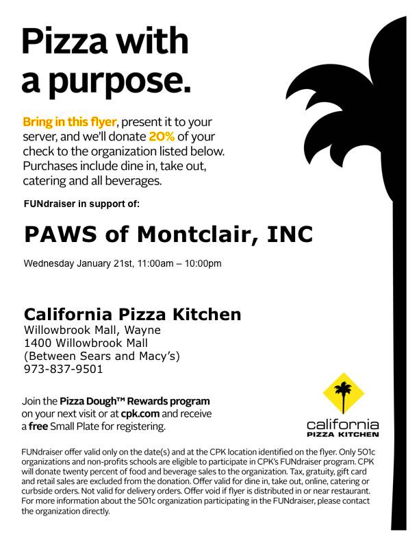 California Pizza Kitchen Application Pdf