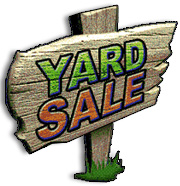 PAWS Yard Sale