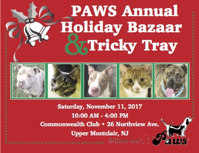 2017 PAWS Holiday Bazaar