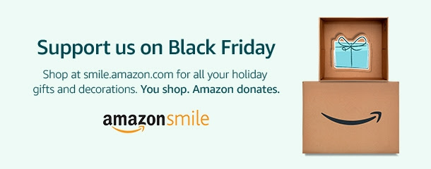 Support us when you shop on Black Friday.