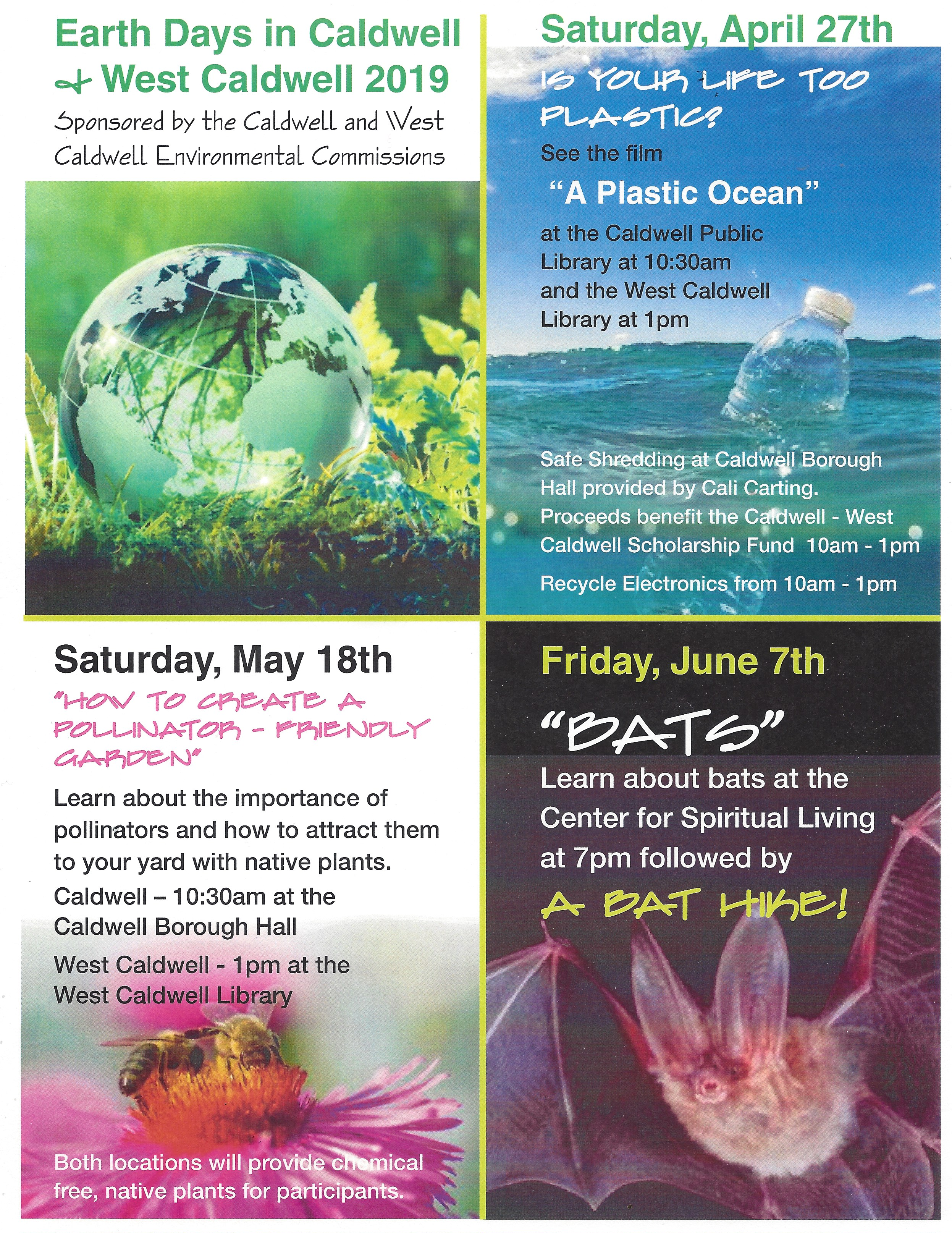 Earth Days in Caldwell & West Caldwell 2019
